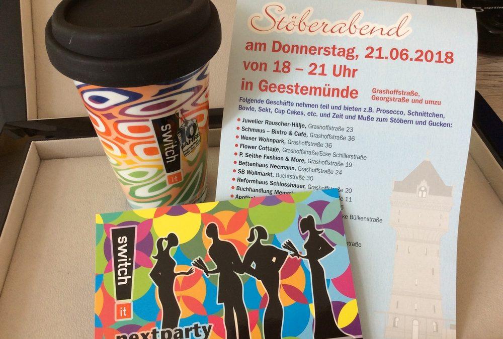 STÖBERABEND TRIFFT SWITCH IT-PARTY